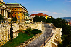 Buda castle royalty free stock images