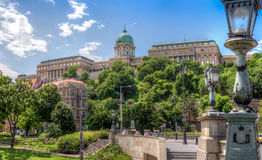 Buda Castle. In Budapest, Hungary Stock Photos