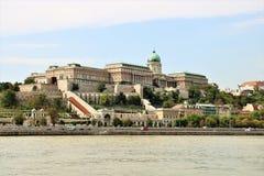 Buda Castle Budapest, Hungary Royalty Free Stock Images