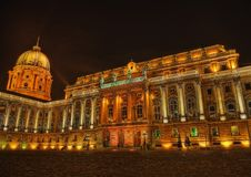 Buda Castle Budapest Hungary. Taken in 2015 royalty free stock images
