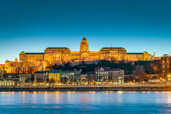 Buda Castle in Budapest, Hungary. Royalty Free Stock Photo