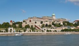Buda Castle in Budapest, Hungary royalty free stock photos
