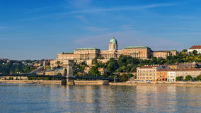 Buda castle a - Budapest - Hungary Royalty Free Stock Images