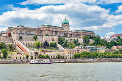 Buda castle - Budapest - Hungary. Buda castle and city skyline - Budapest - Hungary Royalty Free Stock Photography