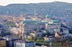 Buda Castle in Budapest, Hungary Royalty Free Stock Images