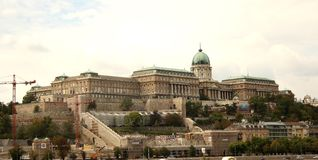 Buda Castle (Budapest, Hungary) Royalty Free Stock Photo