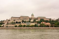 Buda Castle (Budapest, Hungary) Royalty Free Stock Photography