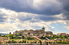 Buda Castle, Budapest, Hungary Stock Image