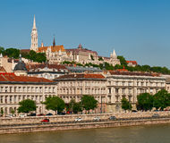 Buda Castle, Budapest. Stock Photos