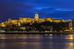 Buda Castle in Budapest stock images