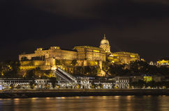 Buda Castle in Budapest stock photo