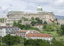 Buda Castle in Budapest. Scenery at Buda Castle in Budapest, the capital city of Hungary stock images