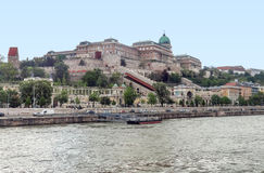 Buda Castle in Budapest. Scenery at Buda Castle in Budapest, the capital city of Hungary stock photo