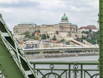 Buda Castle in Budapest. Scenery at Buda Castle in Budapest, the capital city of Hungary royalty free stock image