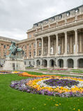 Buda Castle in Budapest. Scenery at Buda Castle in Budapest, the capital city of Hungary stock photography