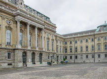 Buda Castle in Budapest. Scenery at Buda Castle in Budapest, the capital city of Hungary stock photos