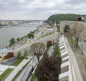 Buda Castle in Budapest. Scenery at Buda Castle in Budapest, the capital city of Hungary royalty free stock photo