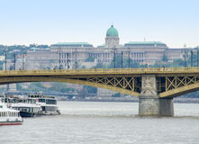 Buda Castle in Budapest. Scenery near Buda Castle in Budapest, the capital city of Hungary royalty free stock photography