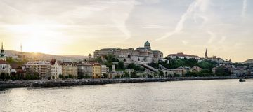 Buda Castle in Budapest Stock Image