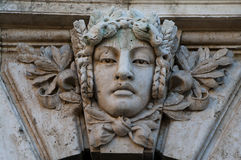 Buda castle detail, Budapest Stock Images