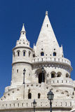 Buda Castle. Detail of the Fisherman's Bastion in Budapest Royalty Free Stock Images