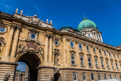 Buda Castle di Budapest, Ungheria Fotografia Stock Libera da Diritti