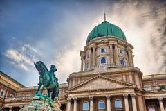 Buda Castle di Budapest, Ungheria Immagine Stock Libera da Diritti