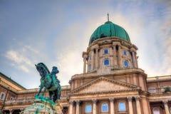 Buda Castle di Budapest, Ungheria Fotografia Stock