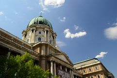 Buda Castle. And the castle district of Budapest, Hungary Royalty Free Stock Image
