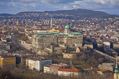 Buda Castle district, Budapest, Hungary Stock Photo