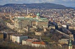 Buda Castle district, Budapest, Hungary Royalty Free Stock Image
