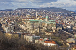 Buda Castle district, Budapest, Hungary Stock Image