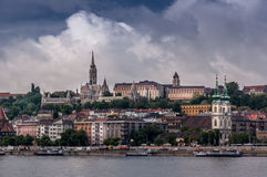 Buda Castle district Royalty Free Stock Photos