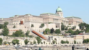 Buda castle historic landmark Stock Photos