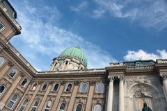 Buda Castle is the historical castle complex of th Stock Photography