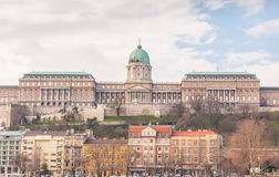Buda Castle is the historical castle and palace complex of the Hungarian kings in Budapest. Buda Castle is the historical castle and palace complex of the Stock Image