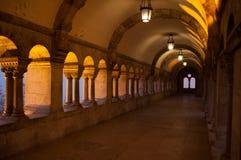 Buda Castle i Budapest Arkivbilder