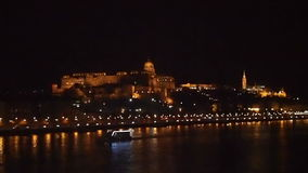 Buda Castle stock video