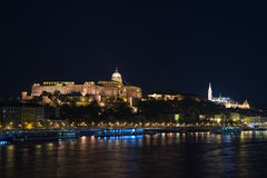 Buda Castle Royal palace Stock Photos
