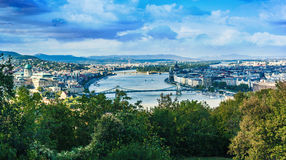 Buda Castle with Royal Palace in Budapest, Hungary Royalty Free Stock Photo