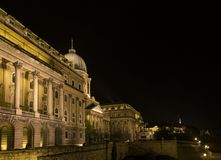 Buda Castle (Royal Palace), Budapest, Hungría Imagen de archivo libre de regalías
