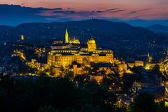 Buda Castle (Royal Palace) Royalty Free Stock Photography