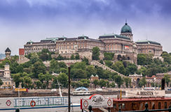 Buda Castle (Royal Palace) Stock Image
