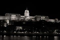 Buda Castle seen across the Danube Stock Image