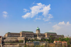 Buda Castle. To Budapest Hungary royalty free stock photo
