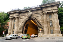 Buda castle tunnel Royalty Free Stock Photography