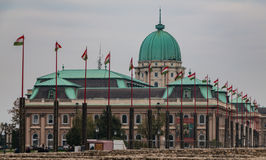 Buda Castle VI Stock Photography