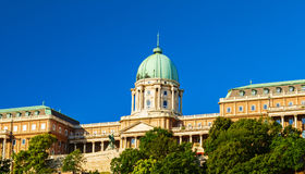 Buda castle view Stock Photo