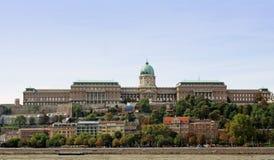 Buda castle Stock Image