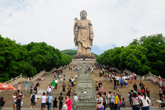 Buda China de Lingshan Fotografia de Stock Royalty Free